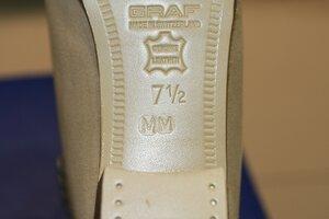 Профессиональные фигурные ботинки Graf Edmonton Special (Швейцария) в полноте ММ