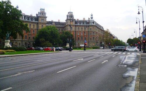 Будапешт, проспект Андраши (Budapest, Andrássy Avenue)
