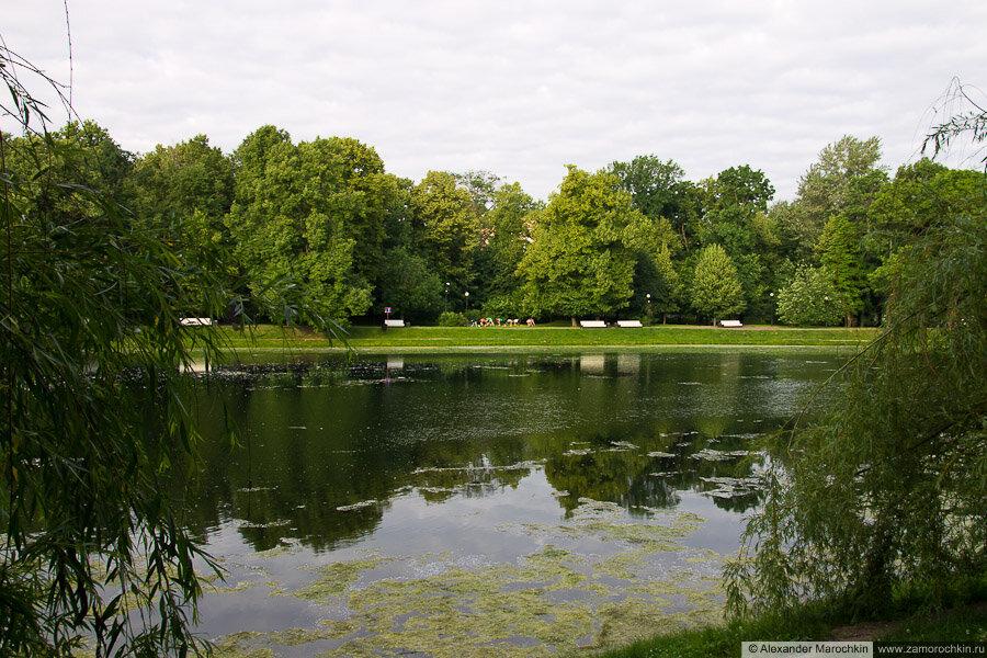 Пруд в Екатерининском парке