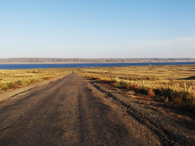 спуск к Казанаковской переправы