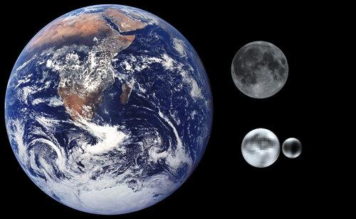 Земля и Плутон