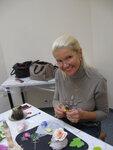 мастер-класс по цветам из японской глины