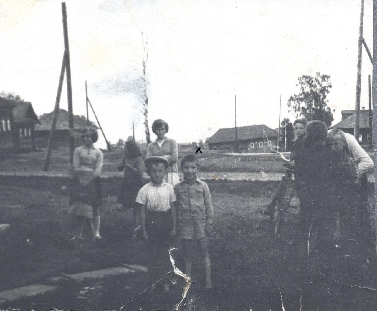 Деревня Большой Починок 1964-68 г.
