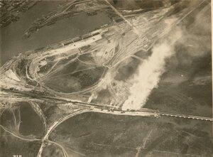 Уничтожение большевистских поездов к юго-востоку от Ростова