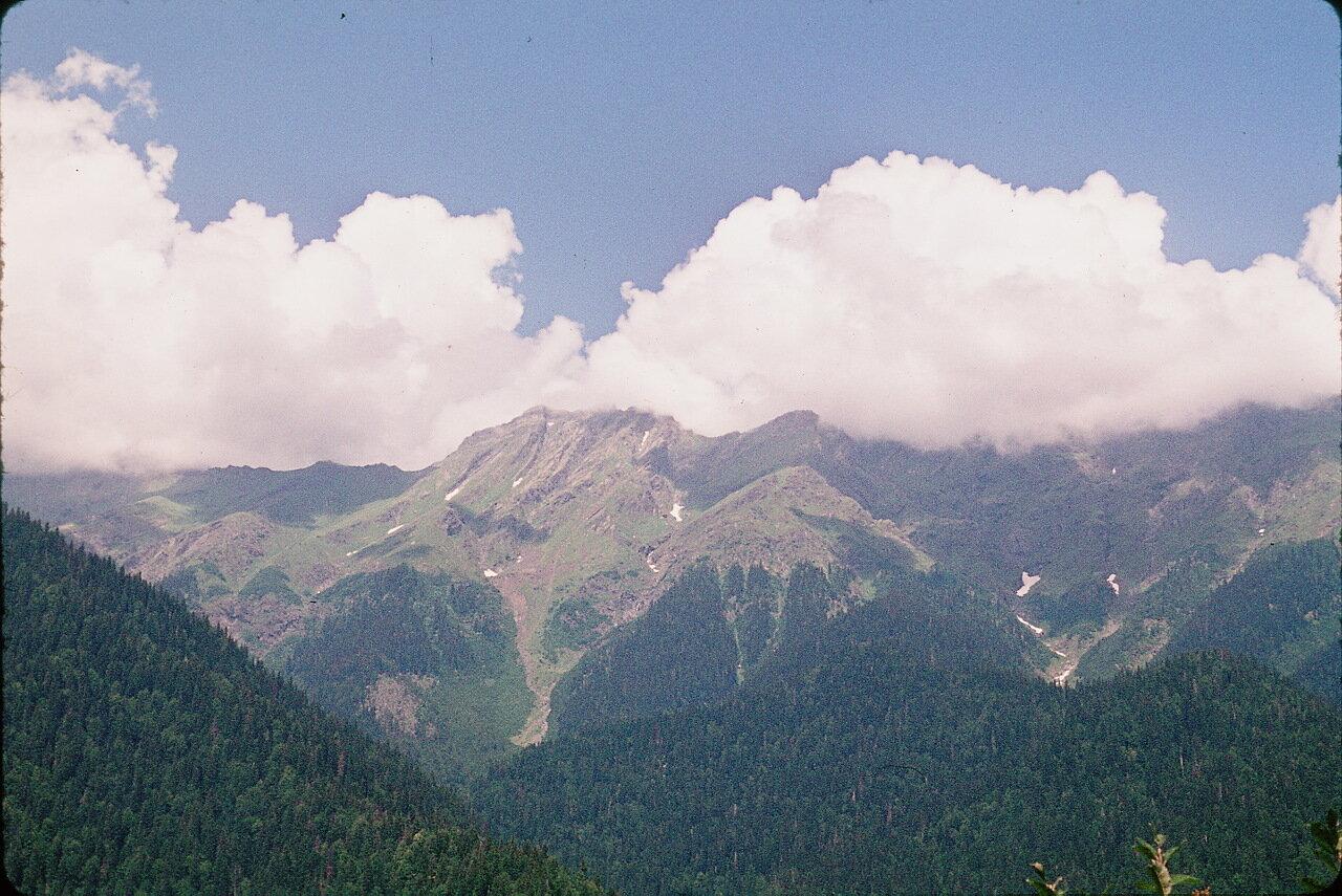 Абхазия. Озеро Рица. Гора Агепста
