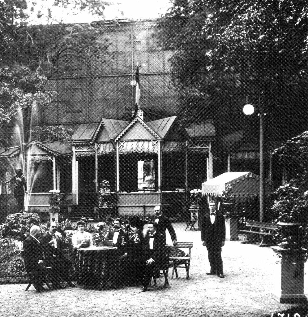 1900-е. Летний сад ресторана
