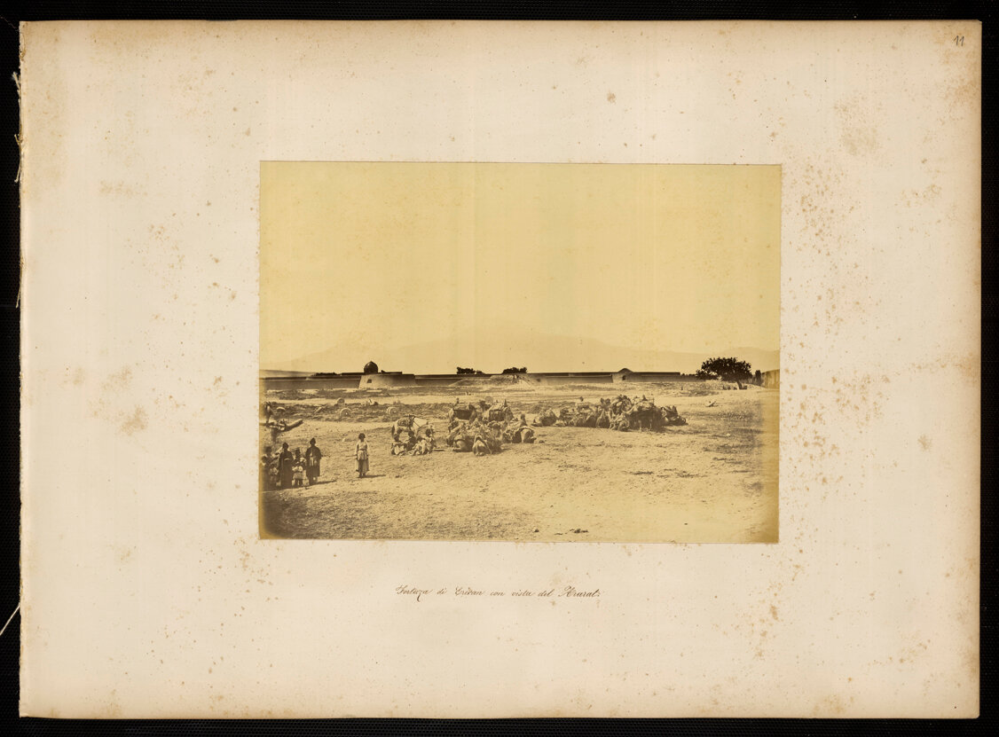 Армения. Эриванская крепость с видом на Арарат