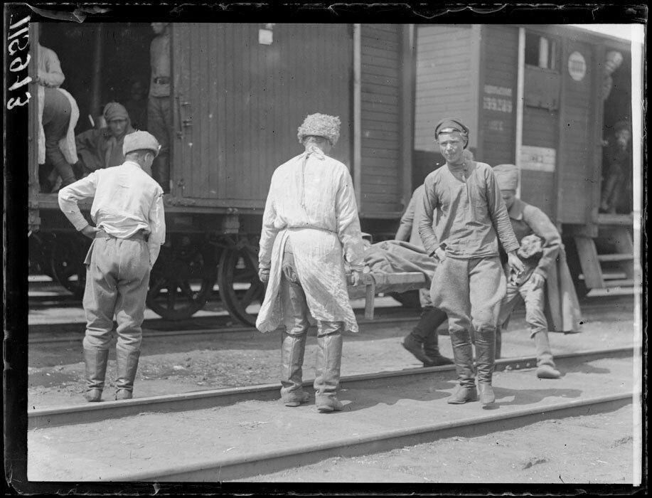 1919. Где-то в Сибири. Чешский поезд с ранеными
