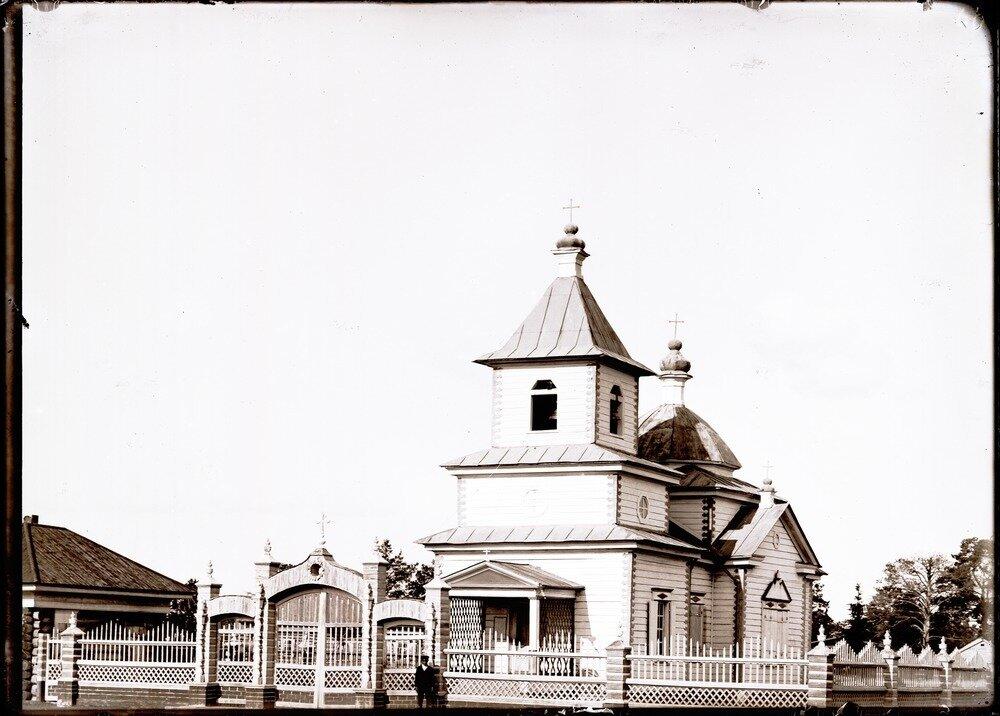 Село Болчаровское. Церковь