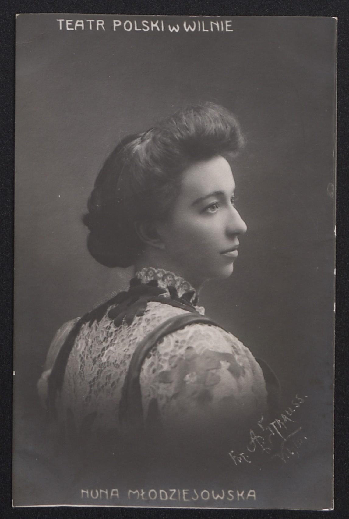 Нун Младзиевская, актриса Польского театра в Вильне