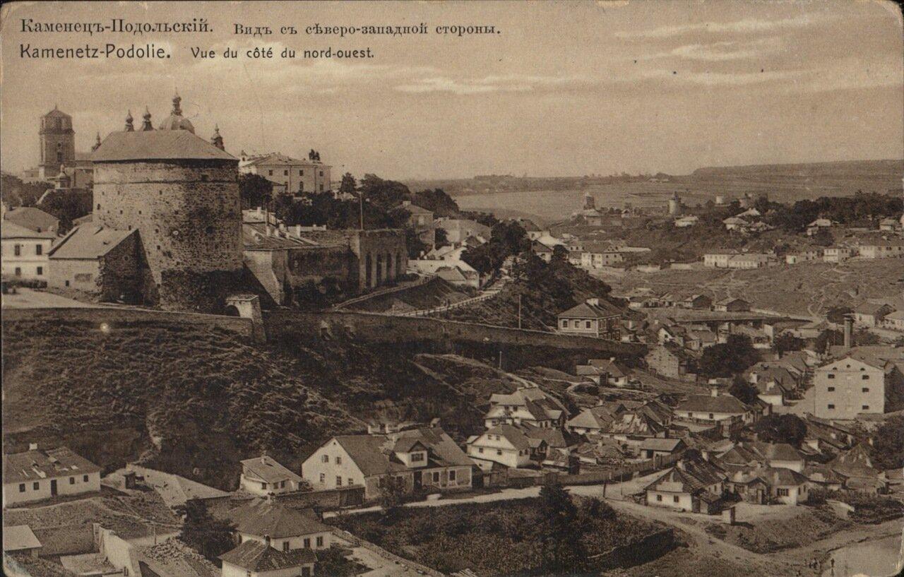 Вид с северо-западной стороны. 1908
