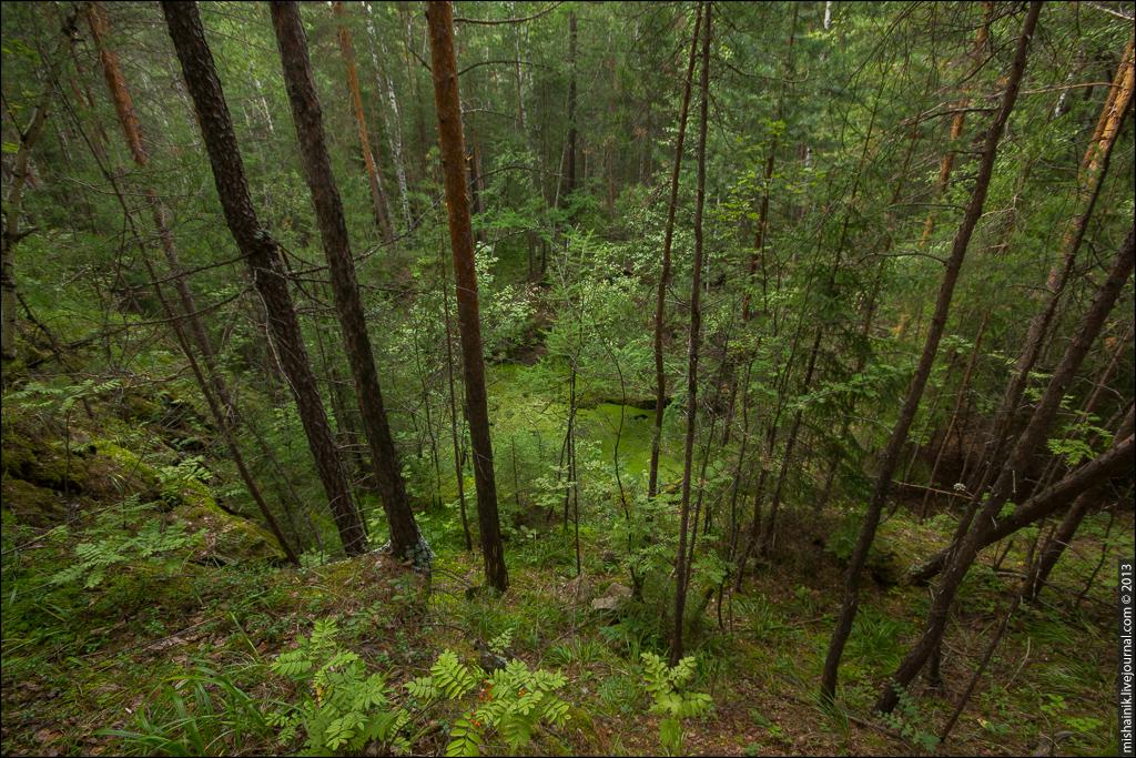 Тальковый карьер горы Мурзинской