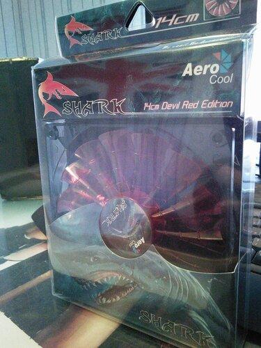 Вентилятор Aerocool Shark Fan
