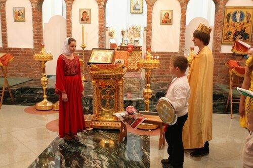 Праздник в честь семьи, любви и верности в Пирогово