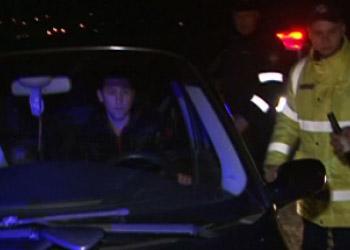 В Теленештском районе пьяный водитель едва не сбил сотрудника полиции