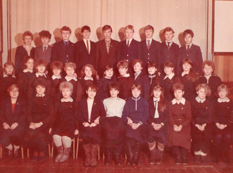 Выпускники 1987 г.