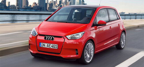 Миниатюрная Audi с индексом A0