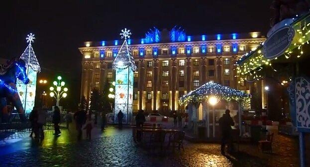 Новогодний Харьков
