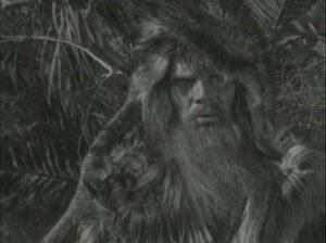 Павел Кадочников в роли Робинзона 1947 год