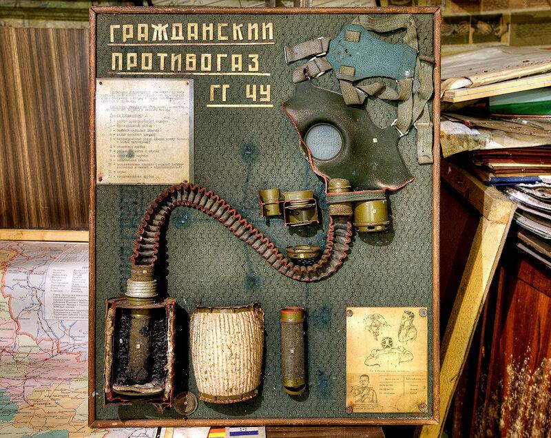 Бомбоубежище под институтом РАН