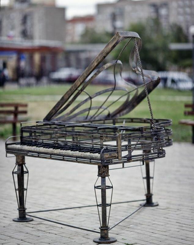 Музыкальные инструменты из металла (24.07.2013)