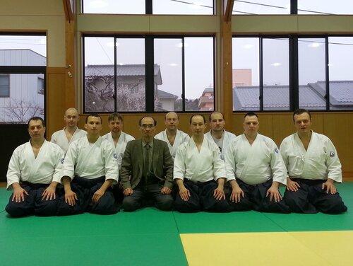 Наша группа с Тада-сенсеем