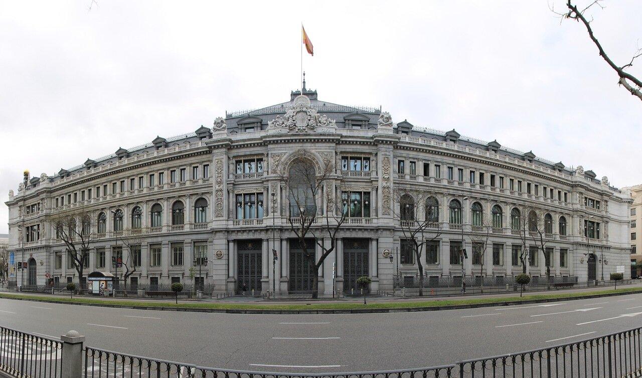 Мадрид. Банк Испании (Banco de España)