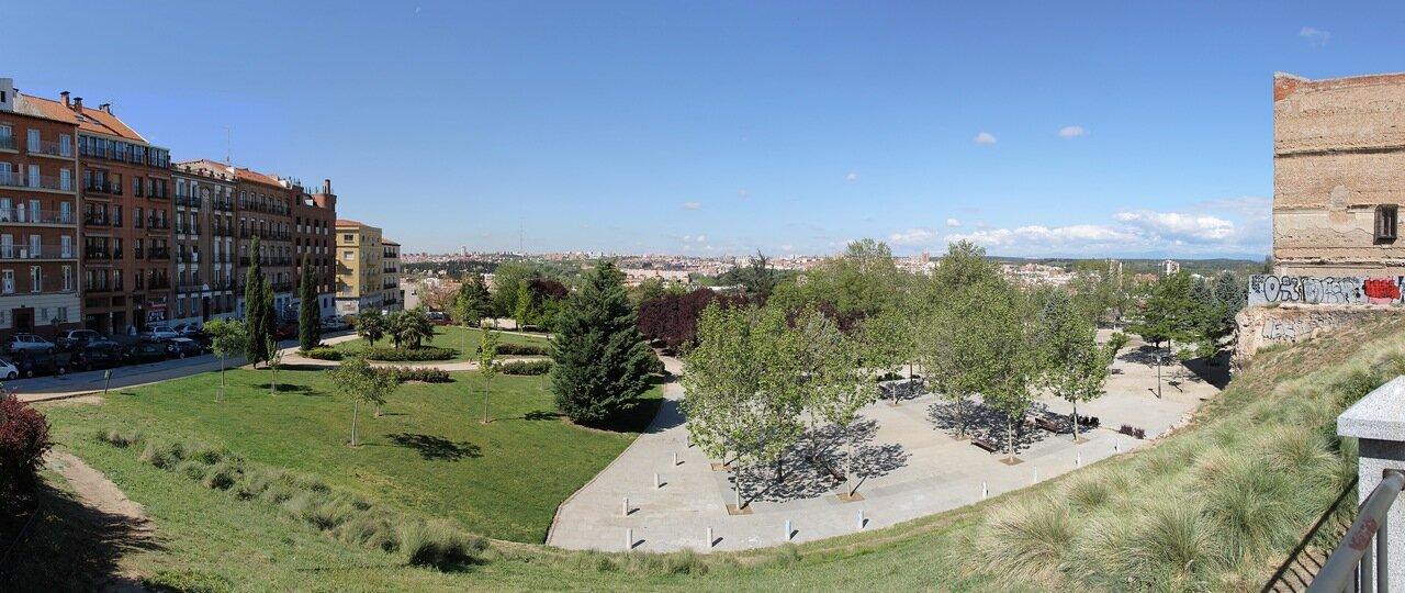 Мадрид. Parque de la Cornisa