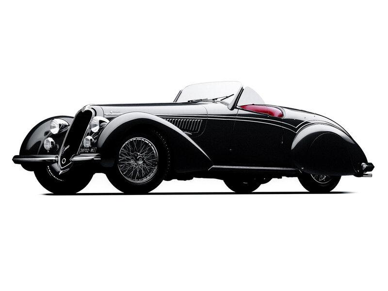 Alfa-Romeo-8C-2900B-Touring-Cabriolet-1937 - 1938-1