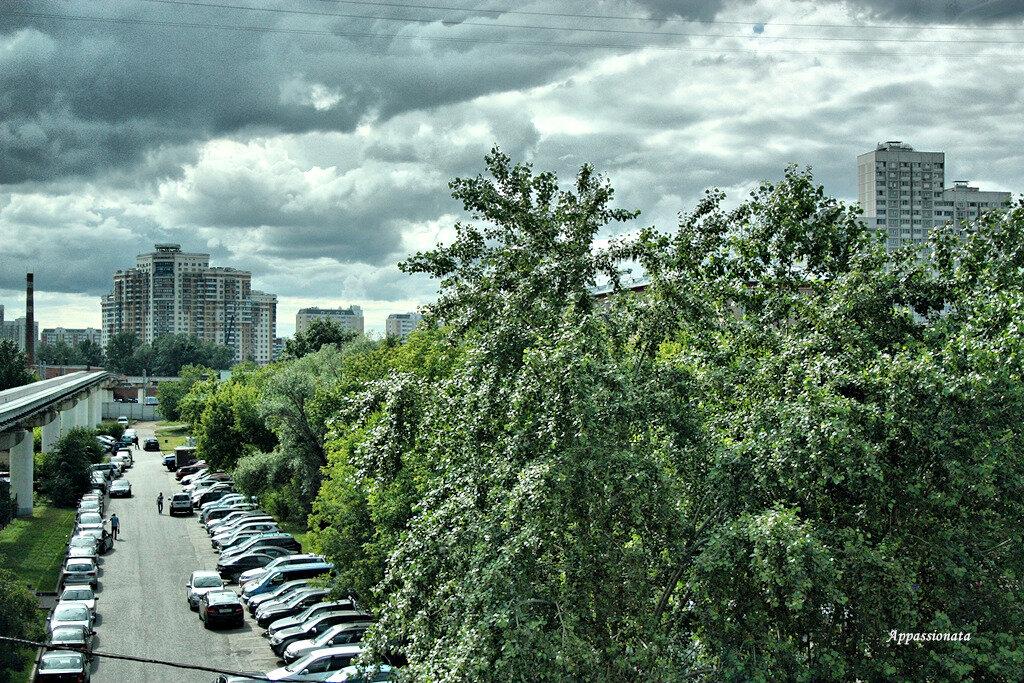 Москва. Монорельс