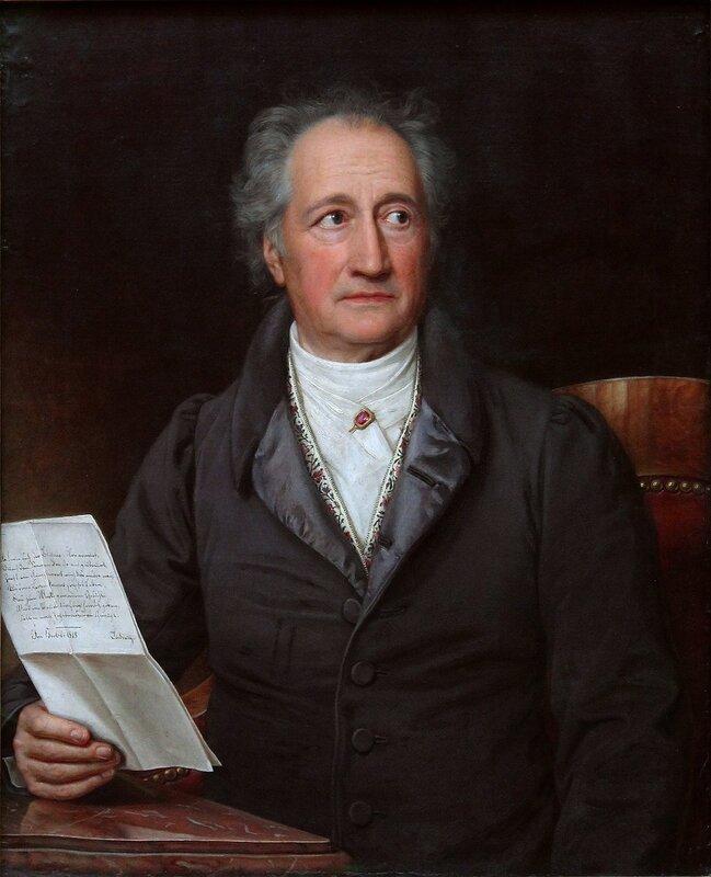 johann wolfgang von goethe Johann wolfgang von goethe bis ins höchste alter – er starb 1832 im alter von fast 83 jahren – war goethe von einer erstaunlichen schaffenskraft.