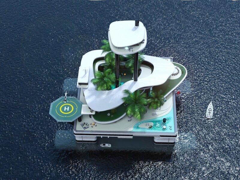 Kokomo Ailand – массивная яхта и частный остров со всеми признаками роскошного курорта.