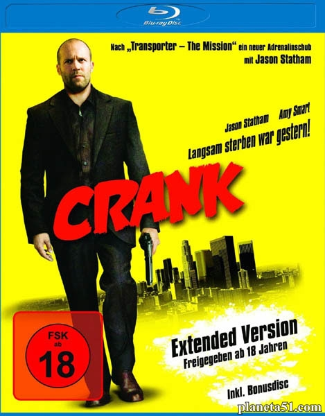 Адреналин / Crank [Extended Cut & Theatrical Cut] (2006/HDRip)
