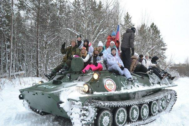 """Военно-патриотическая игра """"Переход"""""""