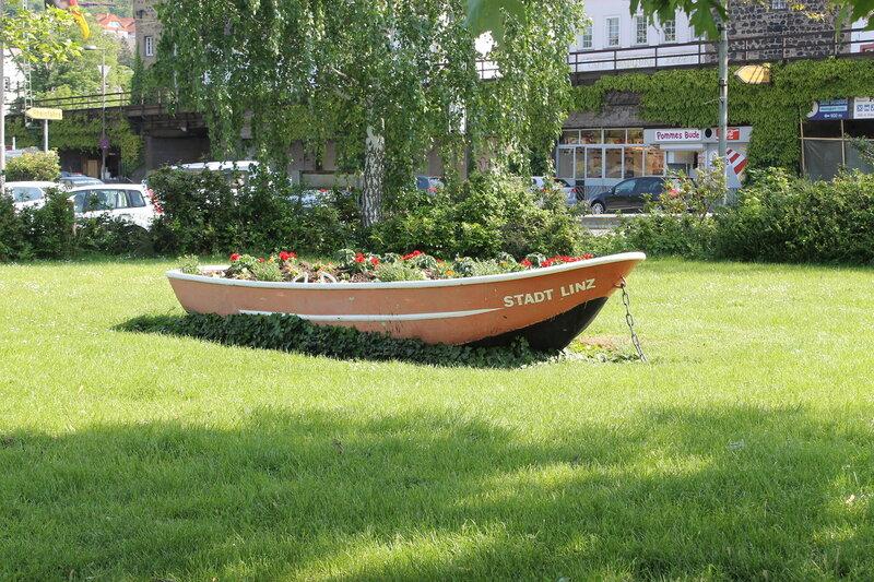 Приплыли - Линц на Рейне