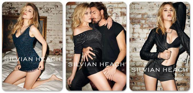 Ashley Smith / Эшли Смит в рекламной кампании Silvian Heach, осень 2013 / фотограф Terry Richardson