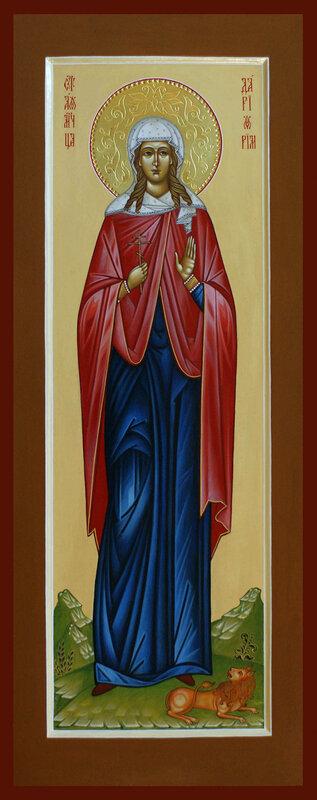мерная икона Святая Дарья Римская,