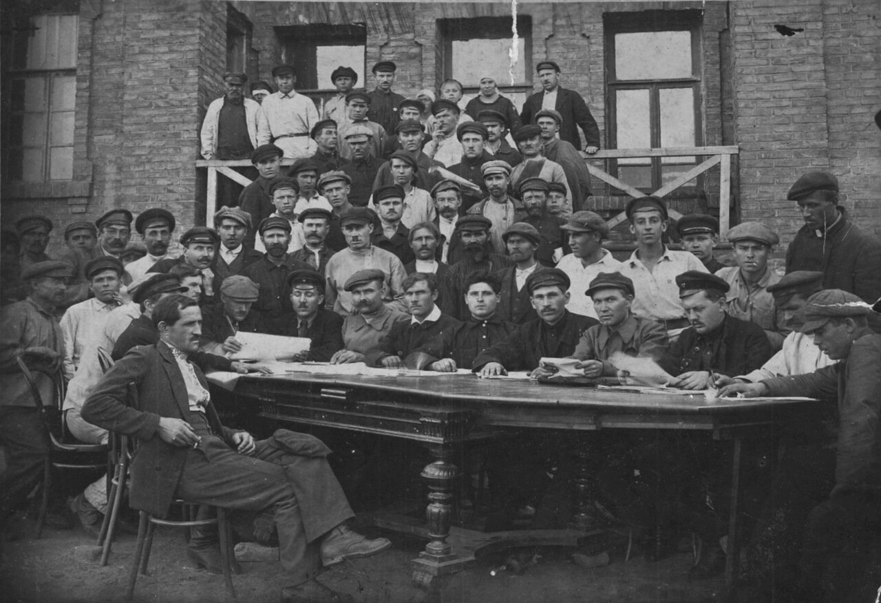 1923 г. Шахта N1 в гор.Головке (Украина)
