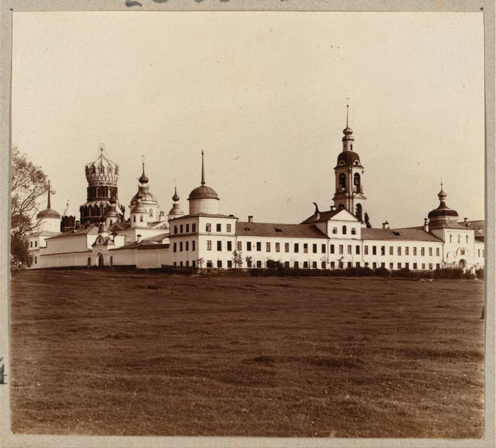 Николо-Бабаевский монастырь. Общий вид. 1910.