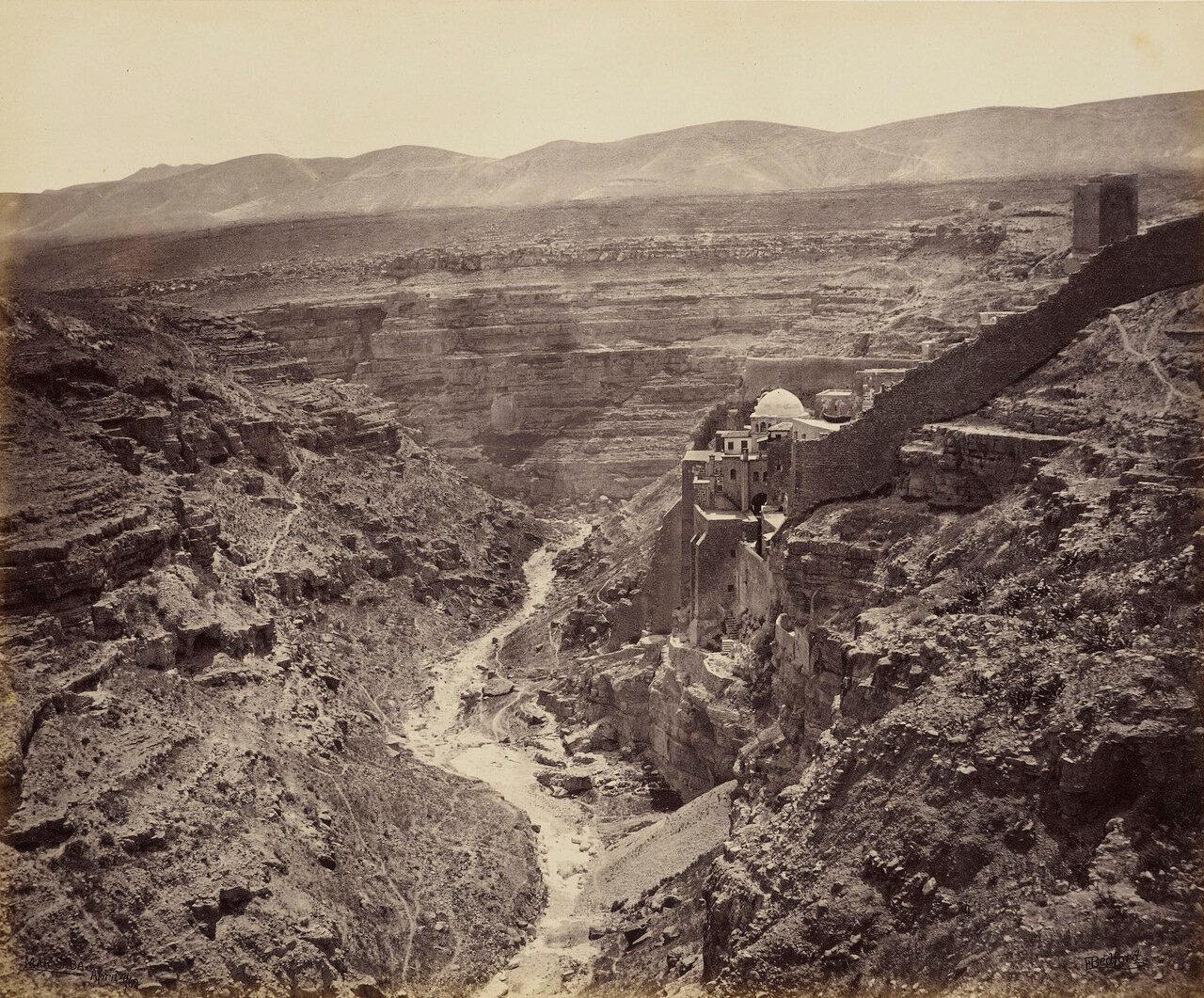 4 апреля 1862. Монастырь Св. Сабы