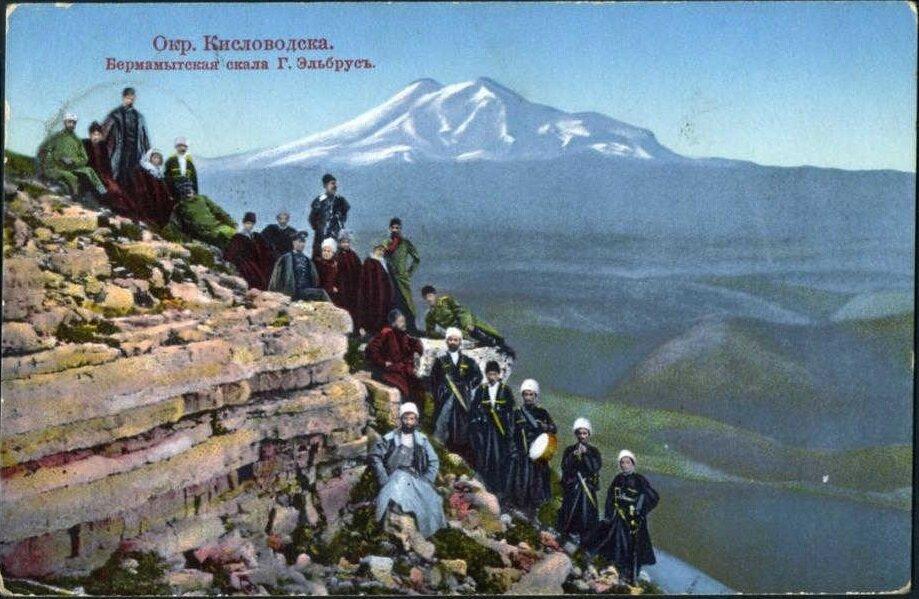 Бермамытская скала горы Эльбрус
