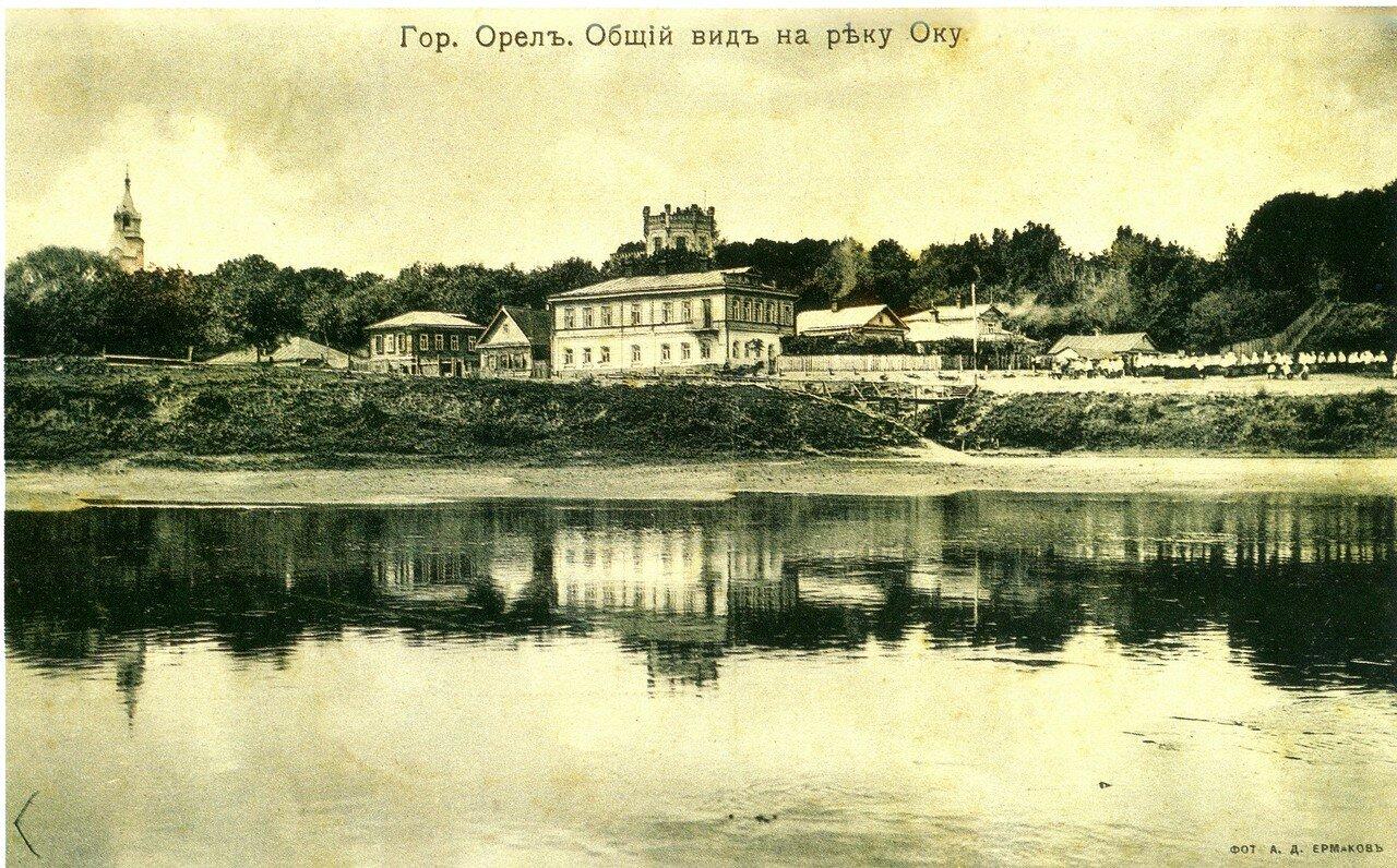 Общий вид на реку Оку