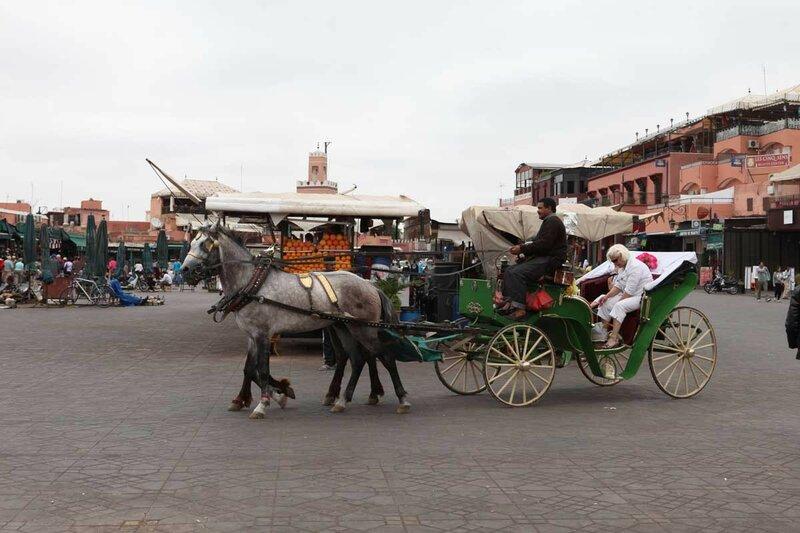 Марракеш - центральный рынок сук