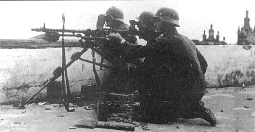 Расчет станкового пулемета MG-34.