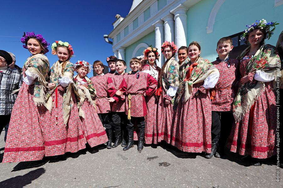 детский фольклорный коллектив города Советска Кировской области