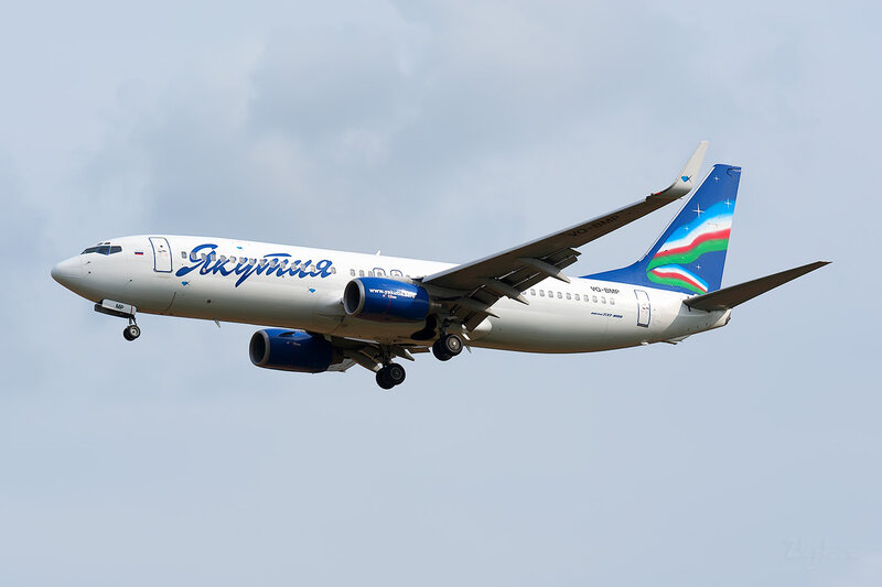 Boeing 737-86N (VQ-BMP) Якутия DSC_3928