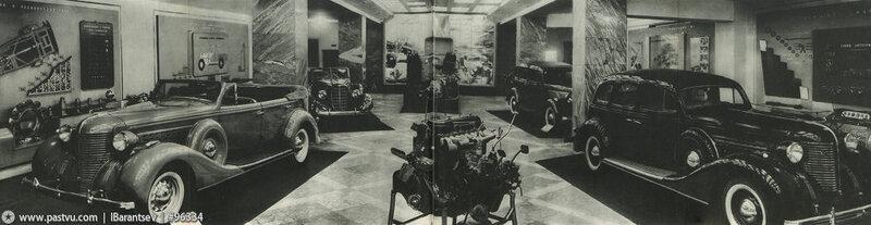 Зал автомобилестроения, Павильон Механизация и электрификация сельского хозяйства СССР, 1939-1941 гг.