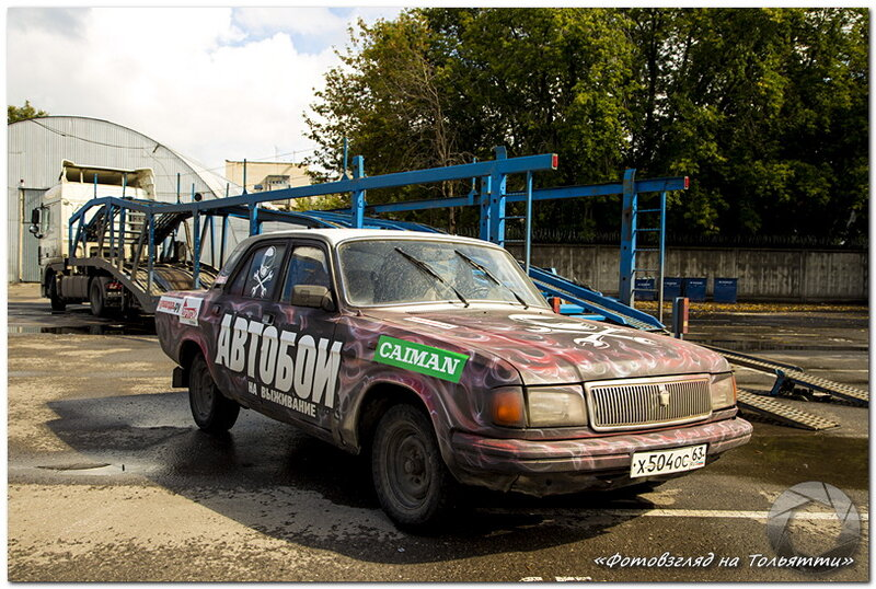 Автобои на выживание ARENA DERBY в Тольятти