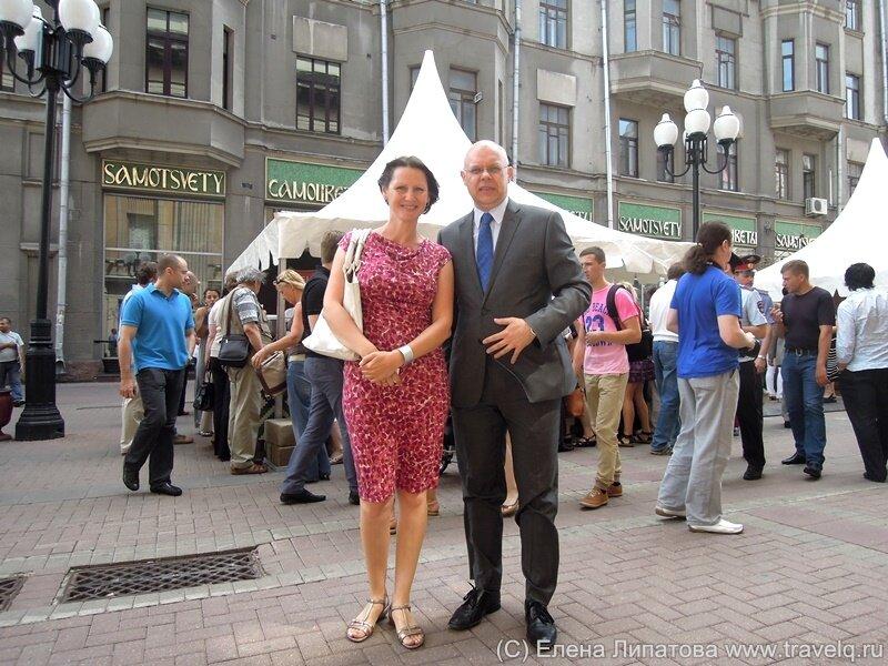 Посол Литвы в России Ренатас Норкус
