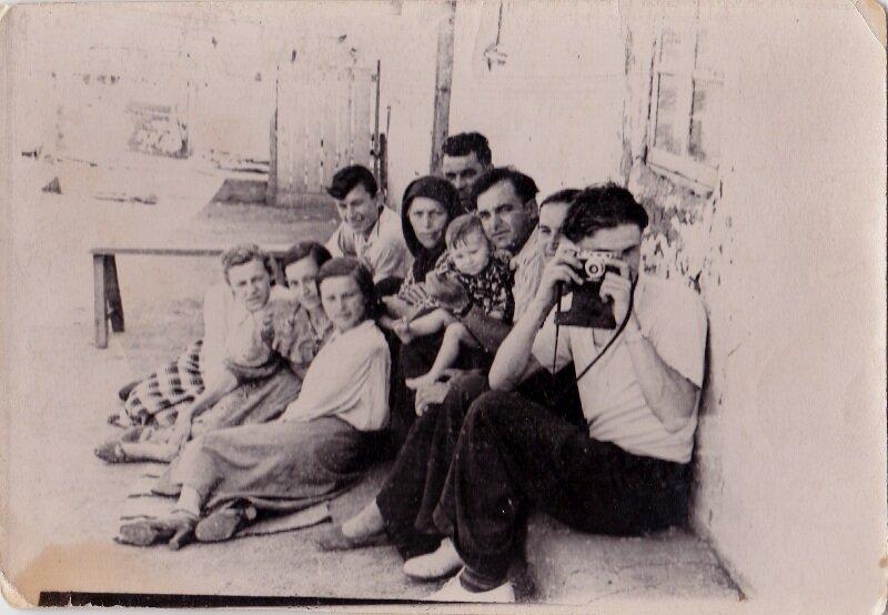 семейное середина 1950-х.